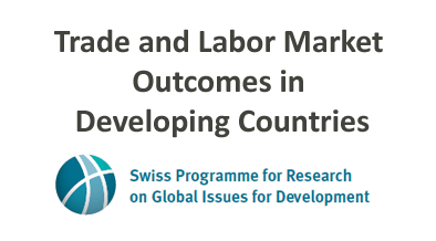 Trade and Labor Market Outcomes in Developing Countries